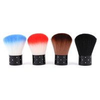 acrylic brush cleaner - New Colorful Soft Nail Tools Brush For Acrylic UV Gel Nail Art Dust Cleaner Manicure Tool Beauty Cosmetic Cleaning Brush ZA1632