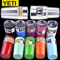 Wholesale Yeti oz oz oz oz Cups Cooler YETI Rambler Tumbler Travel Vehicle Beer Mug Double Wall Bilayer Vacuum Insulated OTH242