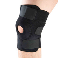 adjustable elbow support - Elastic Knee Support Brace Kneepad Adjustable Patella Knee Pads Safety Guard Strap For Basketball