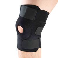 adjustable elbow brace - Elastic Knee Support Brace Kneepad Adjustable Patella Knee Pads Safety Guard Strap For Basketball
