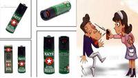 Wholesale 2017 Hot Sell NEW NATO CS GAS defensive perfume sprayer Pepper spray defender of Women Men Security ML NAT950 Best Price