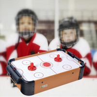 air hockey pucks - Air Hockey Winmax Toy Mini Game Table With Pushers And Puck For Children Christmas Present