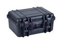 Wholesale IP67 waterproof strong plastic suitcase with foam inserts on hot sale