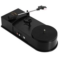 Wholesale mm USB Mini Phonograph Turntable Record Audio Player Vinyl Turntable to MP3 WAV CD Converter Support PRM Function