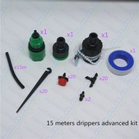advanced plastic systems - kit filter Free ships m advanced DIY watering kits factory direcly Drip Irrigation System Self Watering Garden Hose Kits