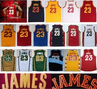 basketball jersey styles - 2017 Newest Style Arrival LeBron James Chinese Sports Jersey Cheap Blue White Red Yellow Stitched Jerseys With Player Name