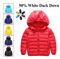 Wholesale New Arrival boys girls downcoat children s clothes kids warm down jacket boys down coat jackets outerwear