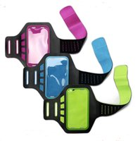 Wholesale Promotion gift running gym waterproof lycra mobile phone sport armband case for iphone