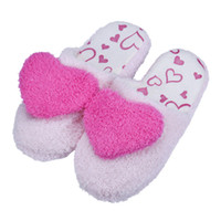 Acheter Offres pu-Vente en gros - Meilleure offre New Women Soft Warm Indoor Lovers Home Floor Soft Pantouches Cotton-Padded Slippers Shoes 36-40 Gift 1Pair