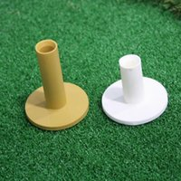 Wholesale Gold Hands Hot Selling Rubber Golf Tee Holder Tough Durable Soft Texture Yellow mm mm White mm