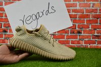 Wholesale Sports Footwear Brands - 2017 Wholesale Online Y Boost 350 MoonRock Low Sport Running Shoes Women Men Footwear Shoes Trainin Brand Athletic Pirate Black With Box