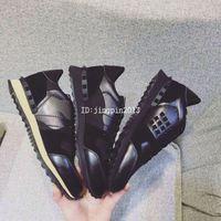 Wholesale hot new Fashion genuine leather men shoes Designer fashion luxury brand V luxury trainers camouflage man casual shoe