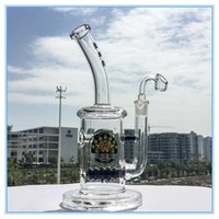 beehive design - Bong Beehive Inline perc glass bongs mm joint heavy Unique design glass water pipe two funcation bongs DGC1257