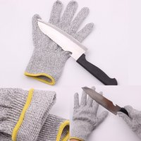 Wholesale cut resistant gloves Kitchen Safety gloves with Food Grade Level Hand Protection Light weight dyneema Gloves Safety Gloves