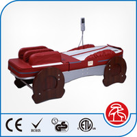 Wholesale Best Father Mother Gift Healthcare Salon Beauty Airbag Jade Roller Stone Heated Spine Massage Bed Table