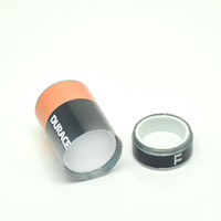 Wholesale Battery shape pill cases large size stealth Stash Diversion Safe AA Battery Pill Box Hidden Container Case Gift