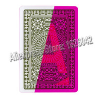 Wholesale XF Italy Modiano Da Vinci Club Plastic Playing Cards Gamble Cheat Marked Cards for UV Lenses Magic Poker Color Filter