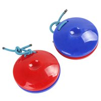 Wholesale Sales Finger Castanets Plastic Percussion Instrument Idiophone for Dance KTV Party Games