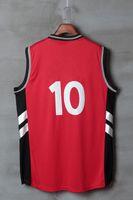 basketball jerseys toronto - 2017 new arrival men basketball jerseys Toronto red cheap breathable jerseys sleeveless stitched sports wear mix order drop shipping