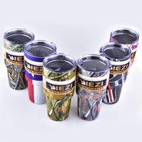 Wholesale 20oz oz YIEZI Cups Cooler YIEZI Rambler Tumbler Travel Vehicle Beer Mug Double Wall Bilayer Vacuum dhl free OTH242