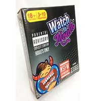Wholesale Watch Ya Mouth Adult Phrase Card Game Expansion Pack Funny Family Party Christmas Board Game KKA969