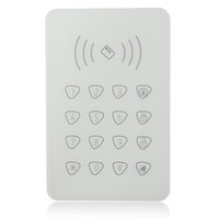 Wholesale Touchable RFID keypad for Smart home WIFI GSM alarm external Remotecontrol password keypad for G90B G90E Smart Home alarm syst