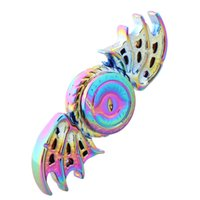 jeux olympiques achat en gros de-Colorful Game of Thrones Fidget Spinner Dragon Eyes Metal Spinner à main Spinner à doigts Anti Stress Tri Spiner Toys pour l'autisme