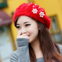 adjustable earmuffs - 5pcs New band Fashion women s fur cony hair knitting earmuffs hat warm cap