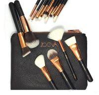 bags dora - Hot NEW ZOEVA Brushes Makeup piece Professional Brushes Kit Foundation Brush Luxury Bag Black from dora