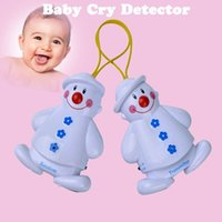 Wholesale Hot sale Wireless Baby Cry Detector Monitor Watcher Alarm New Twin Snowman Wireless Doorbell Baby Cry Detector