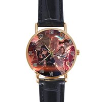 Unisex arts sports watch - Sword Art Online SAO Fashion Watch Casual Leather Watches Analog Quartz Movement Wrist Watch