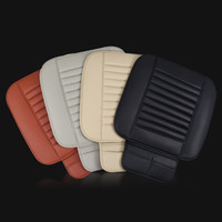 Wholesale Car cushion with leather and bamboo charcoal four season in commom use front car seat cover