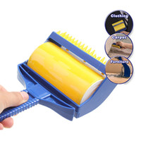 Wholesale ASLT High Quality Rubber Sticky Picker Cleaner Reusable Catcher Roller Built in Fingers Brush Sticky Buddy