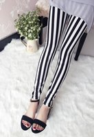 best brand leggings - Best Quality new women fashion red striped digital printed pants Free Size Red Leggings brand clothes ZL5364