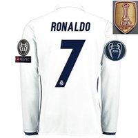 Wholesale Real Madrids soccer jersey RONALDO MORATA BALE SERGIO RAMOS Team customizationt KROOS BENZEMA Personality name and number