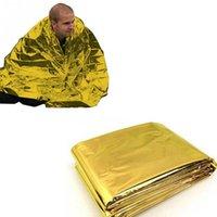 aluminum film insulation - Emergency Rescue Blanket Outdoor Survival Insulation Blanket PET Aluminum Laminated Film Rescue Blanket CM