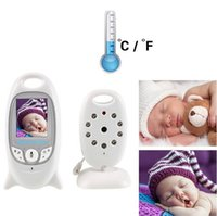 battery life monitor - 2 Inch Color LCD Baby Monitor Video Wireless Baby Monitor Security Camera Two Way Talk Nigh Vision Long battery life hours