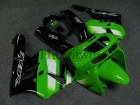 Carrosserie en ABS après-vente pour Kawasaki ZX-9R 1994-1997 ZX9R 94 95 96 97 vert noir Kit de carrosserie de moto