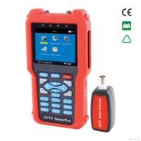 3.5 pulgadas LCD Multímetro CCTV Tester cámaras de seguridad de cctv portátil Video de prueba de nivel, entrada de audio y PTZ NOYAFA NF-702