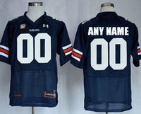 Baseball auburn college football - Men s Customized made Auburn Tigers Custom College Football Jerseys for man Navy Blue White
