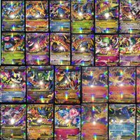 Wholesale 2017 Best selling All Mega Shiny No repeat Poke Ex Cards EX Ordinary Cards MEGA Strongest Cards Charizard Carte