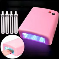 Wholesale 36W UV Lamp V V EU US Plug Nail lamp Professional Gel Nail dryer Curing Light Nail Art Tools