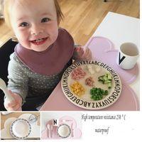 Wholesale 5 Color Heat Resistant cloud shape Convenient Silicone Placemat Baby Mat BPA Free kitchen Accessories Moln