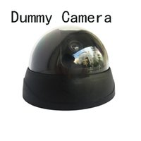 45 aa systems - Fake Camera AA Battery for Flash Blinking LED Dome CCTV Camera surveillance system Dummy Security Camera