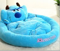 Wholesale Cartoon Animals Colorful Soft Warm Breatheable Fabric Dog Kennels Cute Pet bed Cat House Hideaway Pet Nest M L