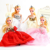 Wholesale Baby toys Dolls Beautiful bride princess Doll Best Gift For Baby Kid Children cm height