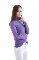 Buona qualità Donna sotto la camicia con Collo maniche lunghe Undergrouped multi colori soprattutto per le donne musulmane