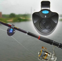 Tools, Pliers & Gaffs   Electronic LED Light Fishing Bite Sound Alarm Alert Bell Clip On Fishing Rod