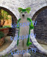 Wholesale New wolf fursuit mascot costume fox fursuit Halloween party costume Carnival Costume