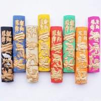 Wholesale set Color Inkstick Chinese ink sticks traditional Solid inks Anhui Hukaiwen Hui Mo Calligraphy Or Painting Inks Dragon